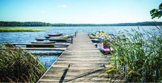 Apceļo divus ezerus un jūru vienā dienā